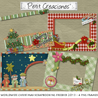 Worldwide Christmas Scrapbooking Freebies