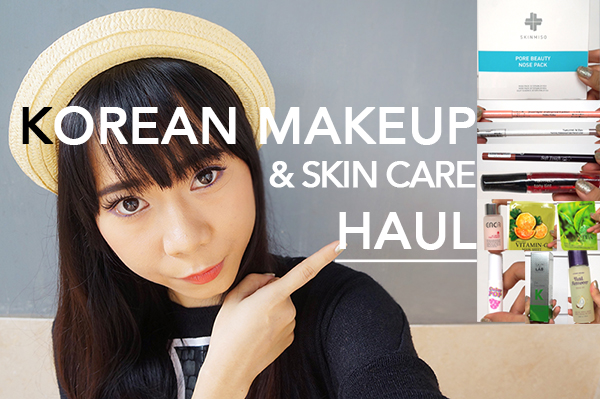 Beauty blogger Indonesia Raden Ayu korean makeup haul