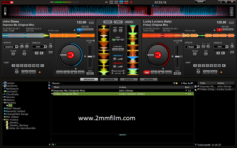 Virtual DJ Pro 7.4.1 (2013) PC Build 482.