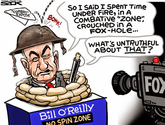 Bill O'Reilly:  So I said I spent time under fire in a