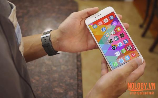 Màn hình của Iphone 6 plus lock