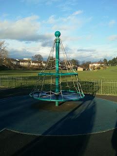 Climbing frame, Redhall Park, Kingsknowe, Edinburgh