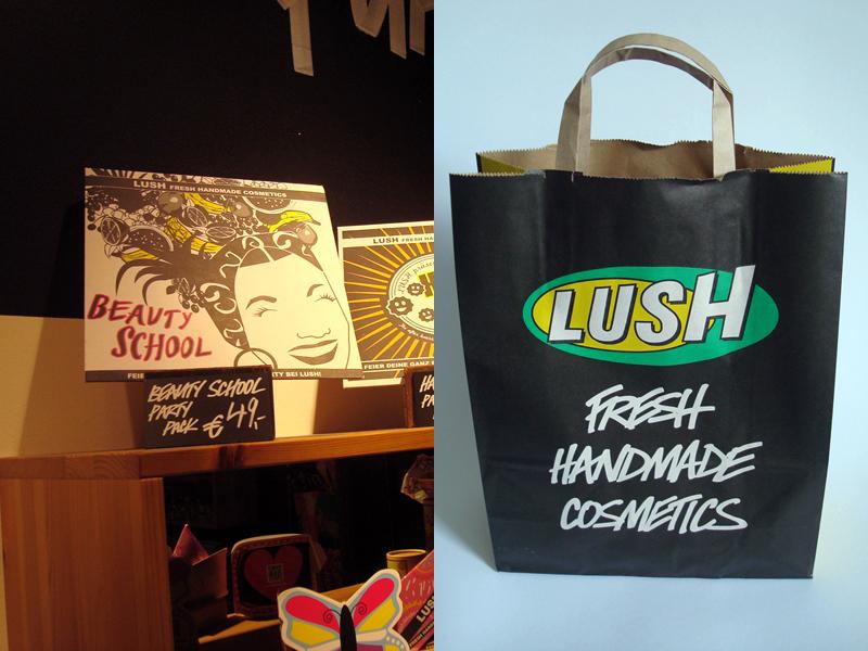 Mein Besuch in der LUSH-Beautyschool