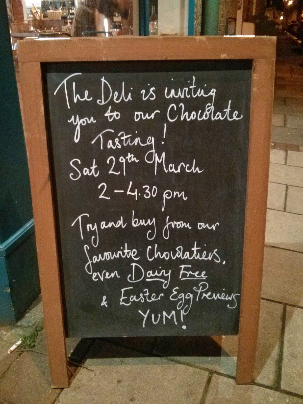 Unique Go Earlsfield March  With Luxury The Earlsfield Deli Is Inviting Those With A Penchant For Chocolate A  Niche Market But Im Sure Theyll Make A Go Of It To A Chocolate  Tasting This  With Attractive Palmers Garden Centre Pakuranga Also Morrisons In Welwyn Garden City In Addition Kew Gardens Car Park And Garden Business For Sale As Well As Ming Garden Wedding Package Additionally Log Cabins For Gardens From Goearlsfieldblogspotcom With   Attractive Go Earlsfield March  With Unique Garden Business For Sale As Well As Ming Garden Wedding Package Additionally Log Cabins For Gardens And Luxury The Earlsfield Deli Is Inviting Those With A Penchant For Chocolate A  Niche Market But Im Sure Theyll Make A Go Of It To A Chocolate  Tasting This  Via Goearlsfieldblogspotcom