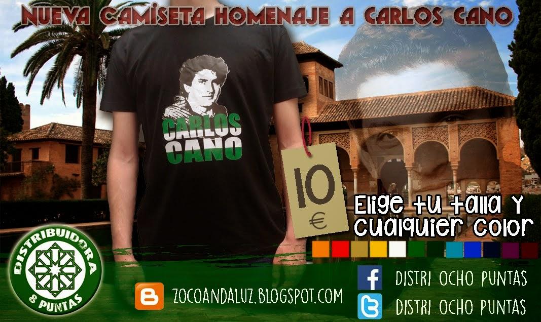 Nueva camiseta Carlos Cano