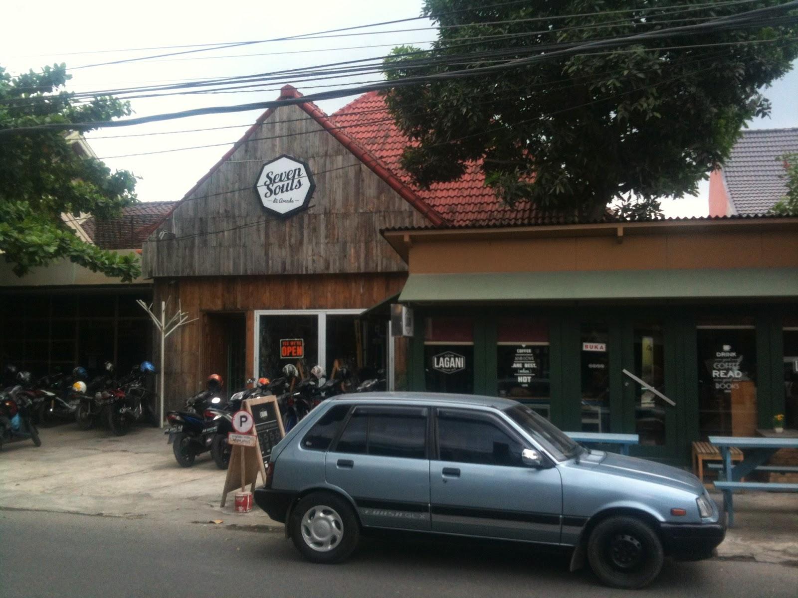 Jalan Cendrawasih, Kawasan Distro Jogja | Joogja Circles