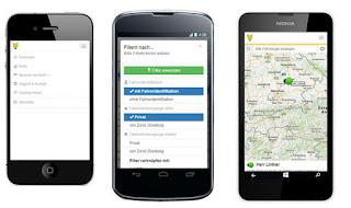 mobiles Telematik-Ortungsportal von YellowFox
