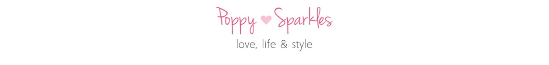 Poppy Sparkles lifestyle blog