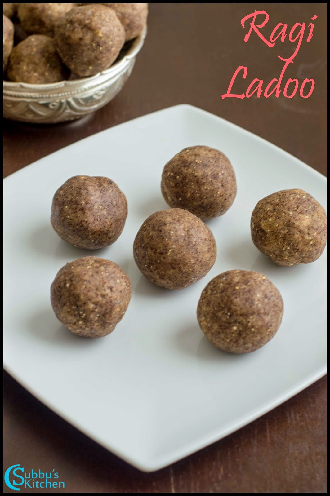 Ragi Ladoo Recipe | Finger Millet and Walnut Jaggery Balls Recipe