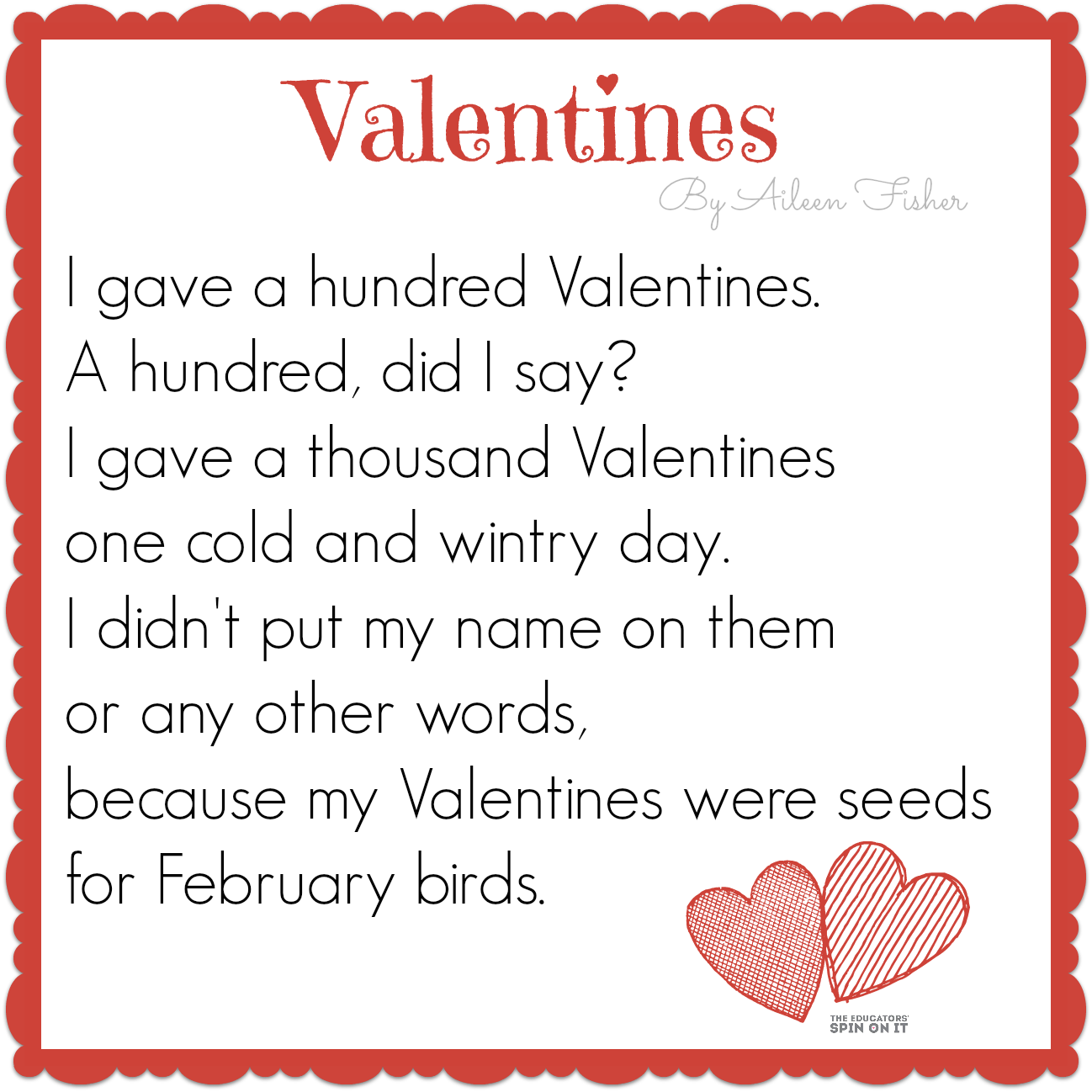 Valentines Poems For Teachers | Valentine Jinni