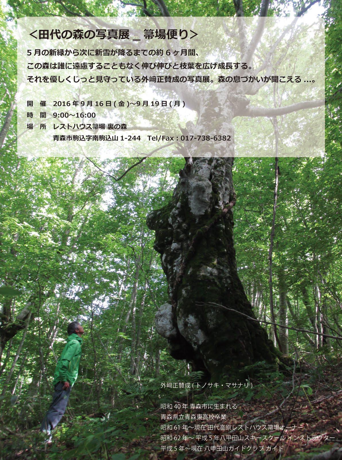 田代の森の写真展2016