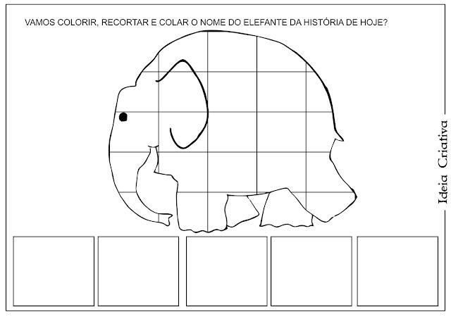Atividade Elmer O Elefantinho Xadrez Educação Infantil