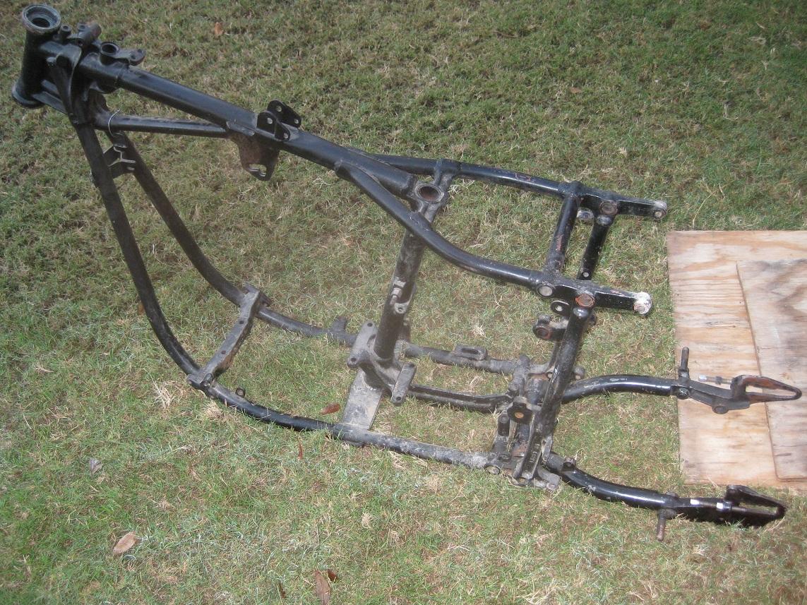 61 Pan Motor and Shovel Frame
