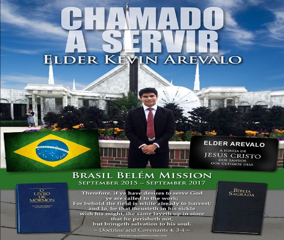 ELDER KEVIN AREVALO BELÉM, BRAZIL MISSION
