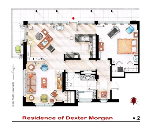 Two guys house plans - House design plans Two And A Half Men House Design on modern family house design, ghost whisperer house design, greek house design, family guy house design,