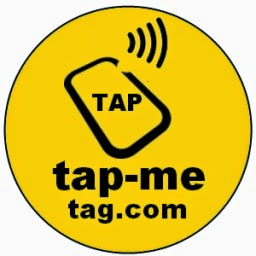 Tap-Me Tag Badge Connect Share ID Anything! NFC NTAG203