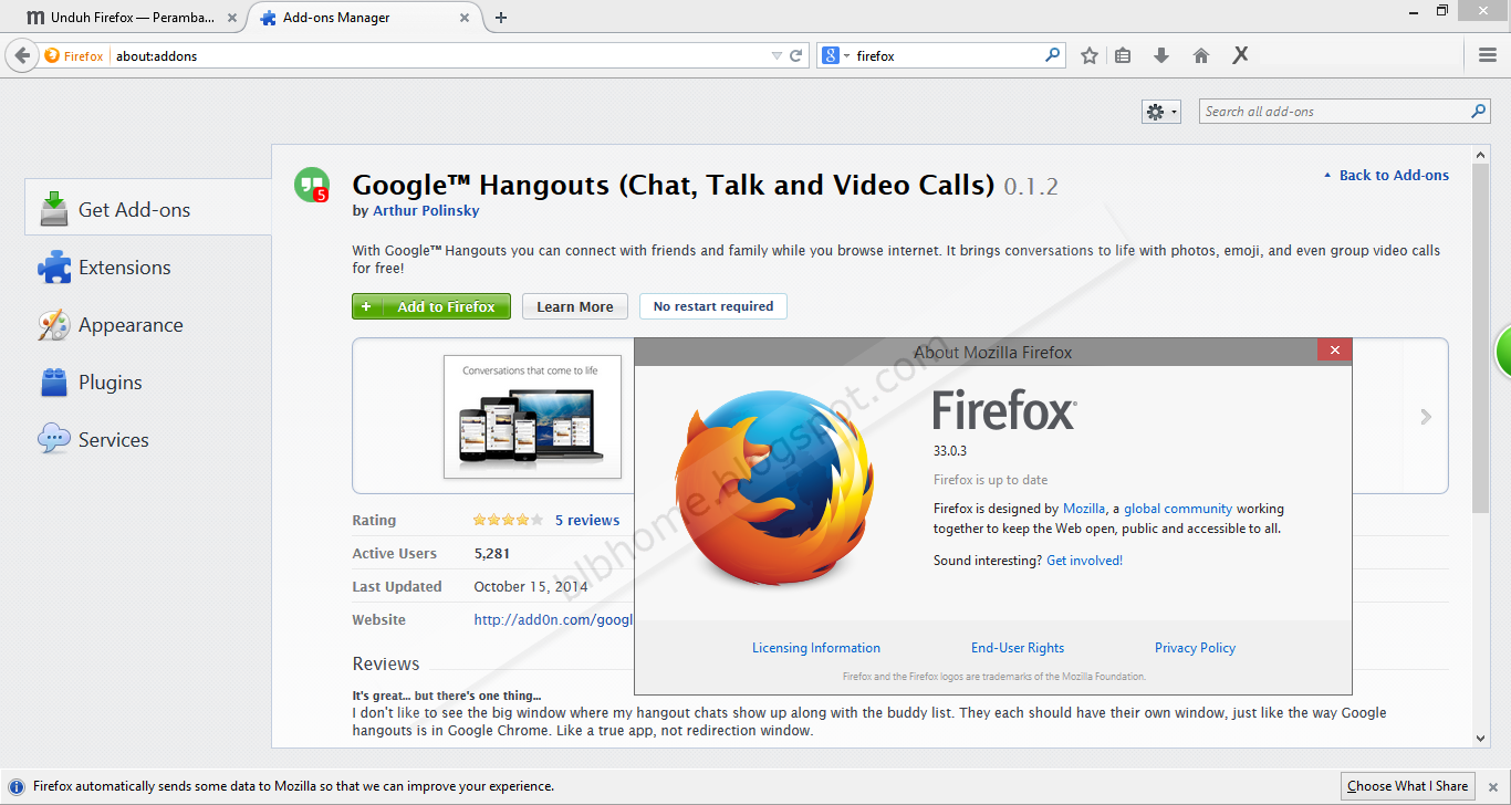 Download Mozilla Firefox Versi Terbaru 2014 berbagi