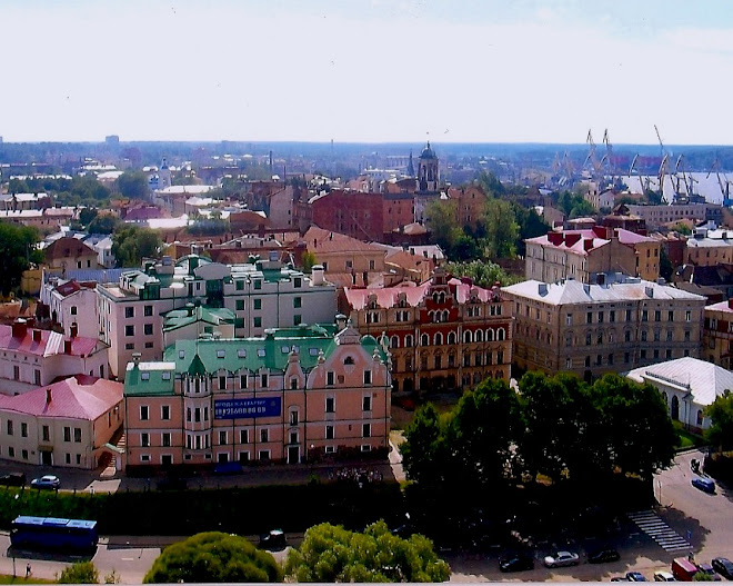Beautiful Vyborg on the Sea of Finland