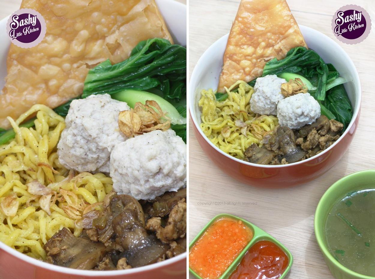 idfb Challenge #11 : Mie Ayam Bakso Labu Kuning - Sashy