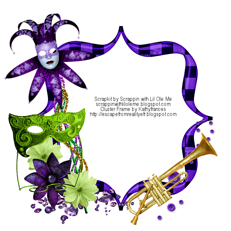 ... From Reality Blog: Mardi Gras FTU Cluster, Cluster Frames, & Mask