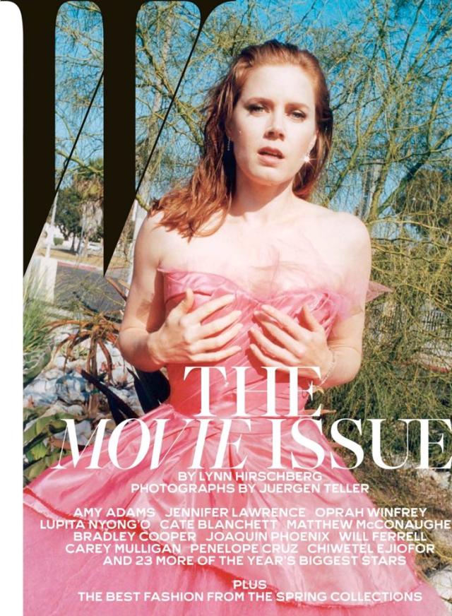 Amy Adams en portada de W Magazine febrero 2014