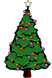 Como Se Dibuja Un Arbol De Navidad Rbol De Navidad En D Santa