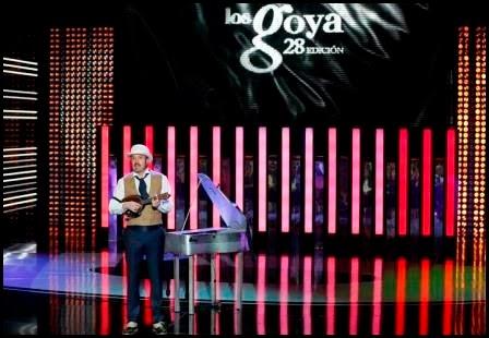 Alex O'Dogherty en los Goya