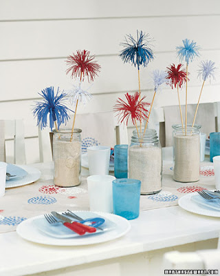 diy fourth of july decorations. hair Festive Fourth of July