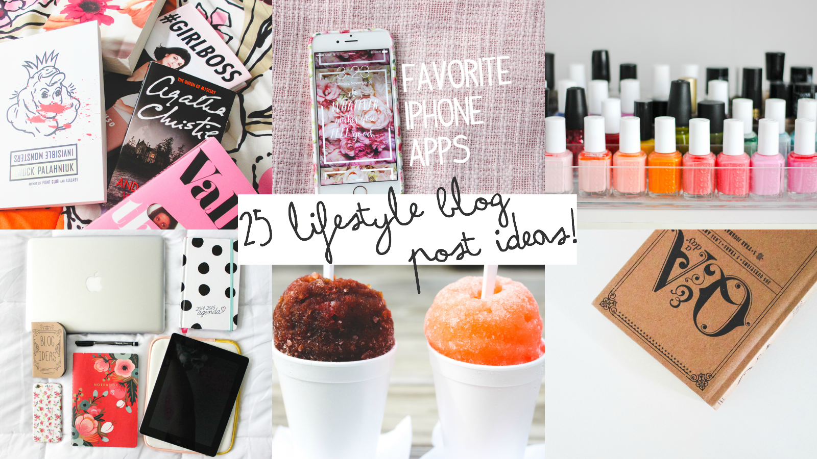 25 Lifestyle Blog Post Ideas | Mandy Leigh Blog