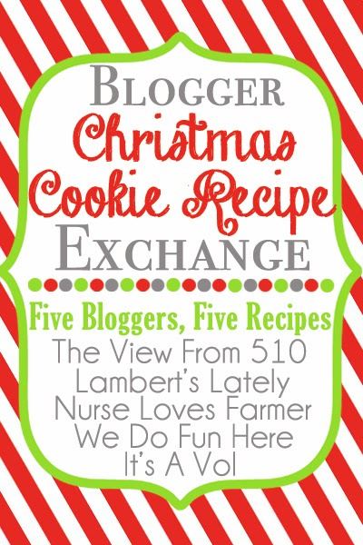 Blogger Christmas Cookie  #Recipe Exchange