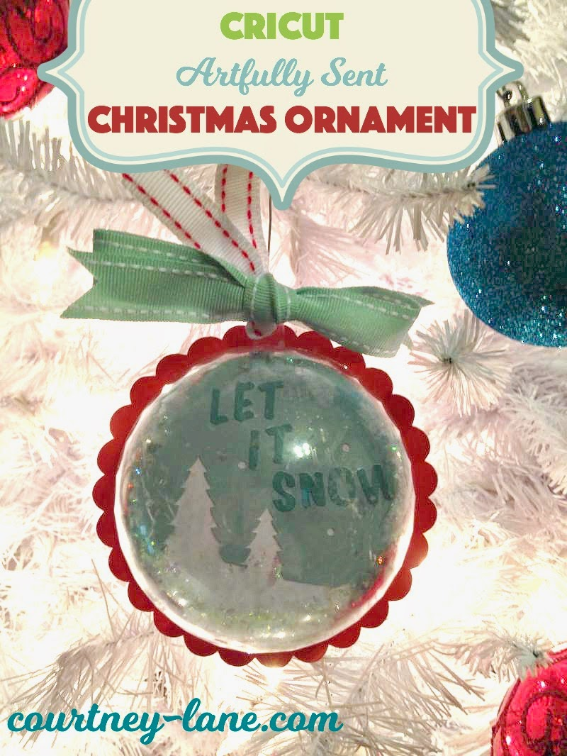Artfully Sent Christmas ornament