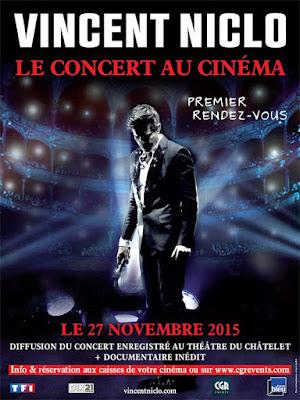 Vincent Niclo - Premier Rendez-Vous - CD/DVD/Cinéma