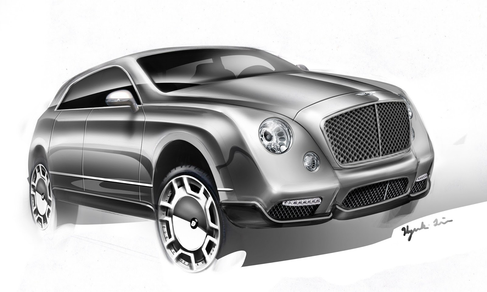 2017 bentley suv widescreen images. Black Bedroom Furniture Sets. Home Design Ideas