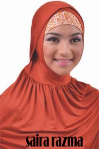 Elzatta Bergo Saira Razma - Merah Bata (Toko Jilbab dan Busana Muslimah Terbaru)