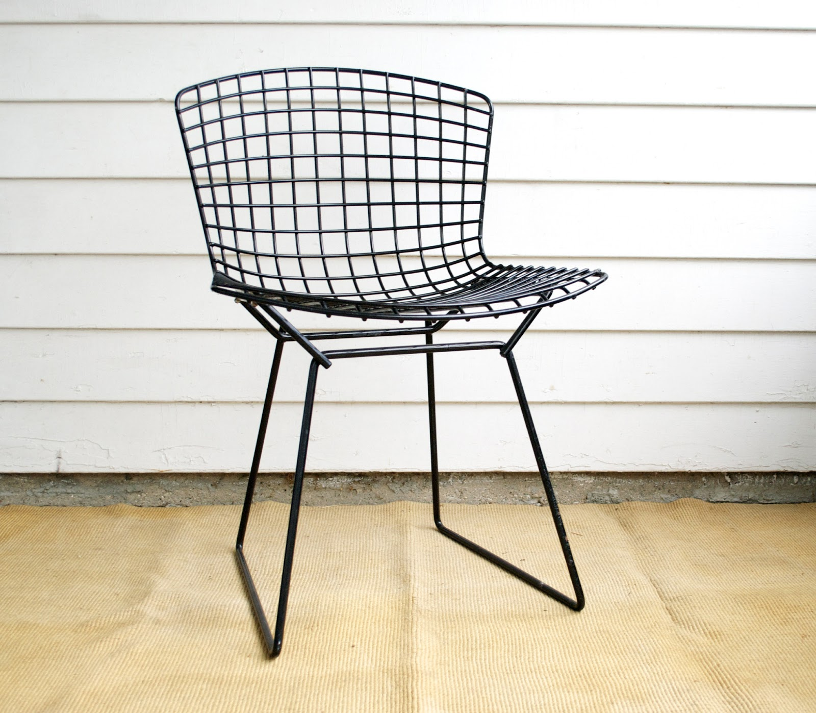 Vintage bertoia side chair for knoll anestamoby