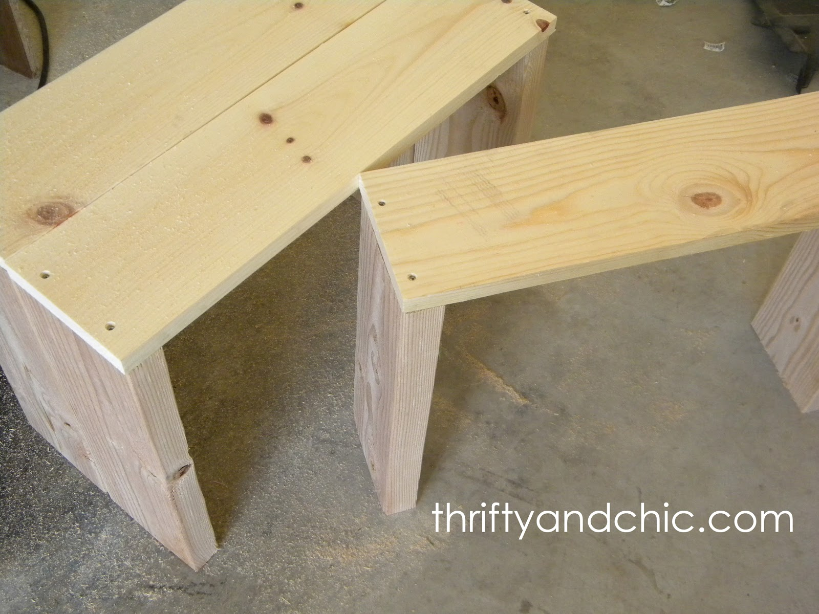 DIY 3 In 1 Coffee Table