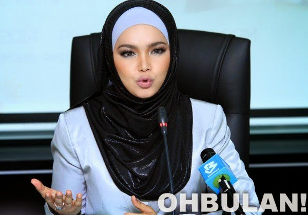 Respon sedih Siti Nurhaliza dilapor wanita ke 3 terkaya di Malaysia