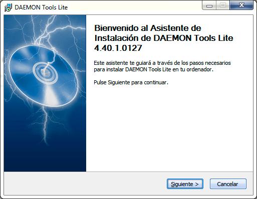 Como instalar Daemon Tools