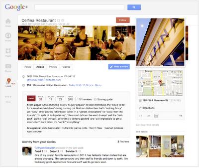 Google+ Local – lokale Informationen auf einem Blick
