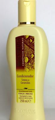 Condicionador tutano e ceramidas