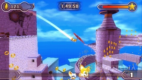 Collection in Sonic Rivals
