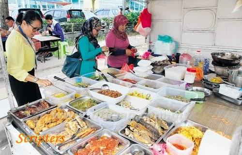 Makanan Lori Pikap Semakin Popular