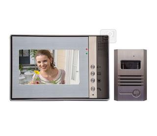 SY-802+D9А-luxurious 1/1 - комплект видео домофона (1 монитор)