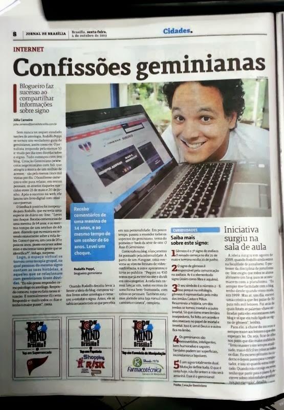 O Blog no Jornal!