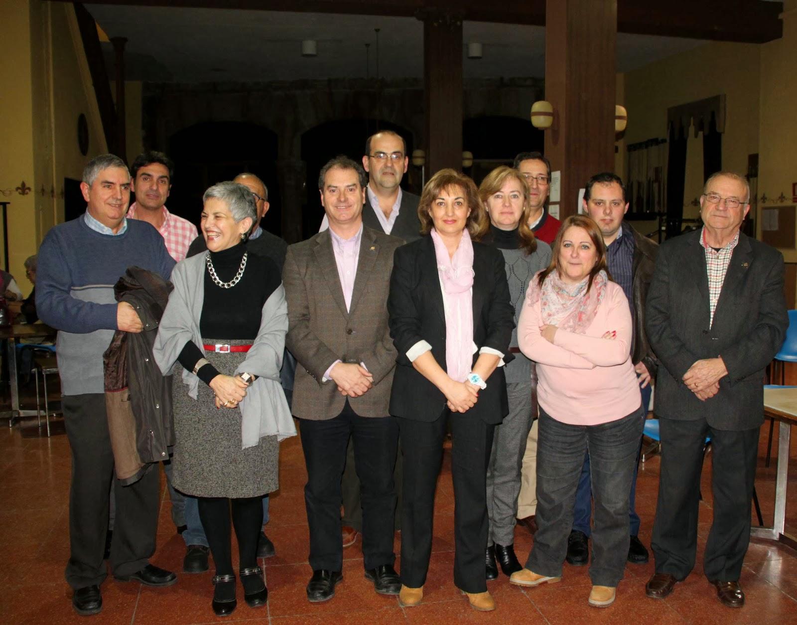 Miembros de la nueva junta directiva del Casino Obrero