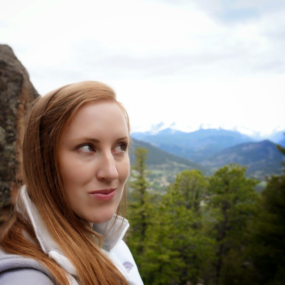 Selfie in Estes Park Colorado by Jessica Mack aka SweetDivergence