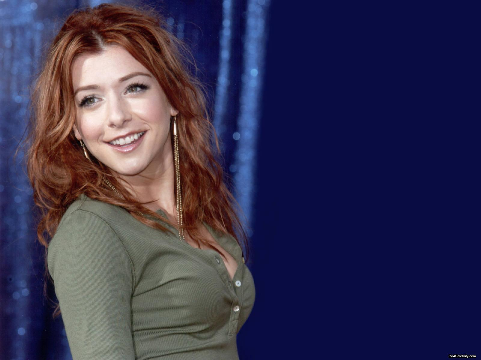 all in celebrity alyson hannigan wallpapers