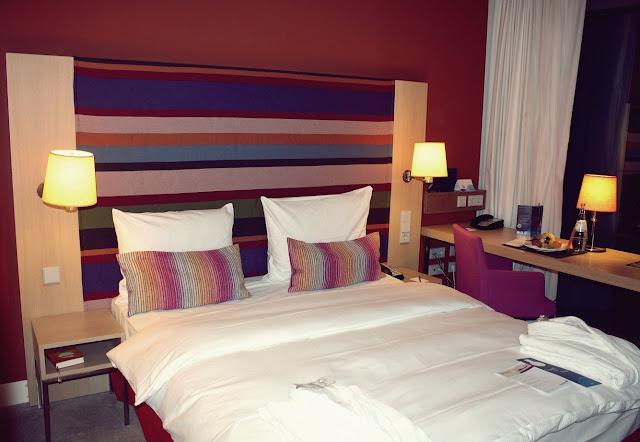 Hotel Radisson Blu Zimmer