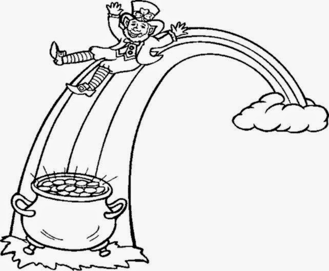 Coloring Pages Of Girl Leprechauns. GIRL LEPRECHAUN COLORING PAGES Coloringpages321 Leprechaun Pictures To Color  Free Coloring