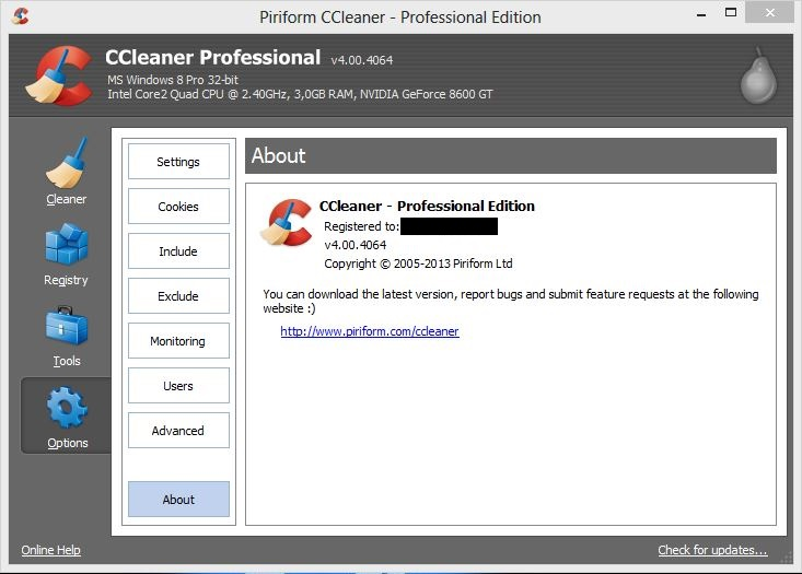 ccleaner 4.00